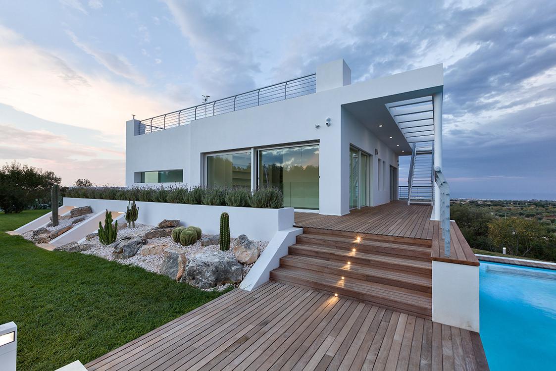 Fotografie di architettura esterni for Colori esterni ville moderne